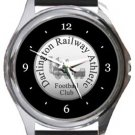 Darlington Railway Athletic FC Round Metal Watch