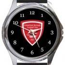 Gravesham Borough FC Round Metal Watch