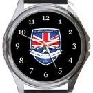 Redditch Borough FC Round Metal Watch