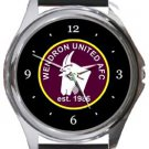 Wendron United AFC Round Metal Watch
