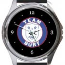 Team Bury FC Round Metal Watch