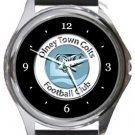 Olney Town Colts FC Round Metal Watch