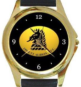 Ossett Albion AFC Gold Metal Watch