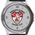 Radcliffe Olympic FC Round Metal Watch