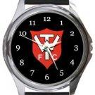 Warminster Town FC Round Metal Watch