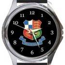Wealdstone FC Round Metal Watch