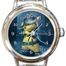 Detective Pikachu Round Italian Charm Watch