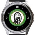 West Allotment Celtic FC Round Metal Watch