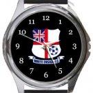White Ensign FC Round Metal Watch