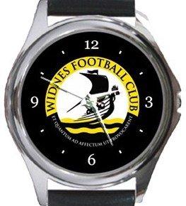 Widnes FC Round Metal Watch