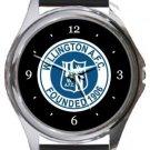 Willington AFC Round Metal Watch