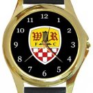 Wormley Rovers FC Gold Metal Watch