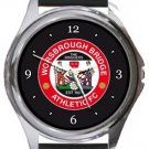 Worsbrough Bridge Athletic FC Round Metal Watch