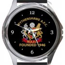 Wythenshawe Amateurs FC Round Metal Watch