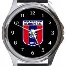 Wilmslow Albion FC Round Metal Watch