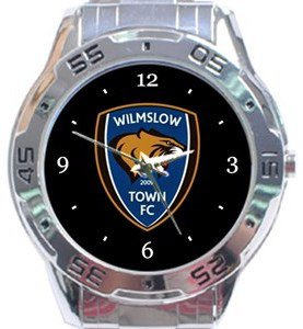 Wilmslow Town FC Analogue Watch