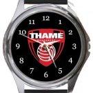Thame Rangers FC Round Metal Watch