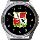 Thames Rugby Round Metal Watch