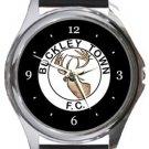 Buckley Town FC Round Metal Watch