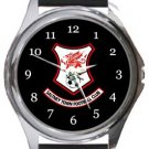 Saltney Town FC Round Metal Watch