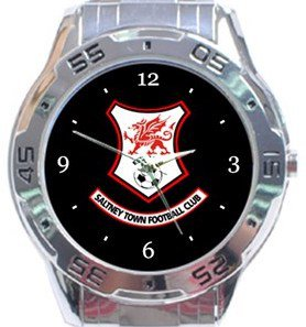 Saltney Town FC Analogue Watch