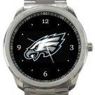 Philadelphia Eagles Football Sport Metal Watch