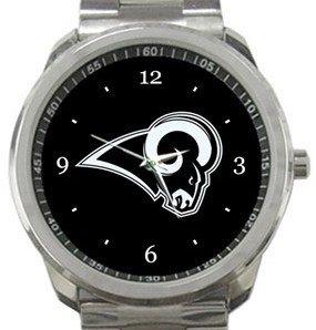 Los Angeles Rams Football Sport Metal Watch