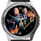 Fast & Furious Hobbs & Shaw Round Metal Watch