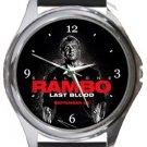 Rambo Last Blood Round Metal Watch