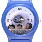 Abominable Blue Plastic Watch