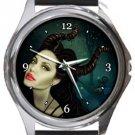 Maleficent Round Metal Watch
