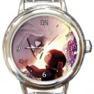 Abominable Yi and Everest Round Italian Charm Watch