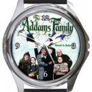 The Addams Family Round Metal Watch