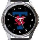 University of Toronto Varsity Blues Logo Round Metal Watch