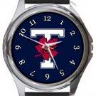 University of Toronto Varsity Blues T Logo Round Metal Watch