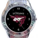 University of Ottawa Gee-Gees Analogue Watch
