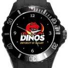 University of Calgary Dinos Plastic Sport Watch In Black