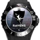 Carleton University Ravens Plastic Sport Watch In Black
