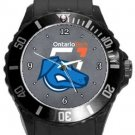 Ontario Tech Ridgebacks Plastic Sport Watch In Black
