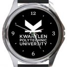Kwantlen Polytechnic University Round Metal Watch