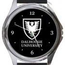 Dalhousie University Round Metal Watch