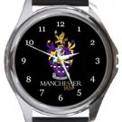 University of Manchester Round Metal Watch