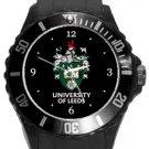 University of Leeds Plastic Sport Watch In Black