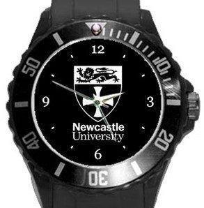 Newcastle University Plastic Sport Watch In Black