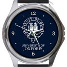 The University of Oxford Round Metal Watch