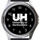 University of Hertfordshire Round Metal Watch