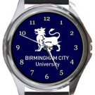 Birmingham City University Round Metal Watch