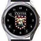 University of Exeter Round Metal Watch
