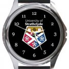 University of Strathclyde Round Metal Watch