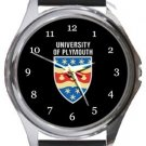 University of Plymouth Round Metal Watch